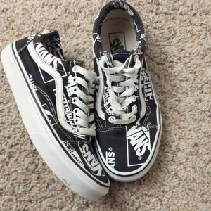 Rare All Over Print Vans